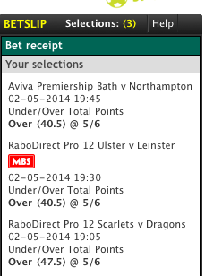 Rugby Accumulator